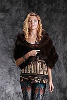 Палантин меховая накидка из баргузинского соболя, фото 1