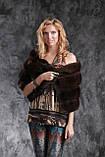 Палантин меховая накидка из баргузинского соболя, фото 2