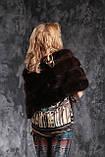 Палантин меховая накидка из баргузинского соболя, фото 4