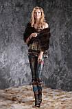 Палантин меховая накидка из баргузинского соболя, фото 5