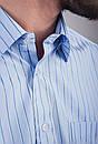 Рубашка Fra №869-1 цвет Голубой, фото 3
