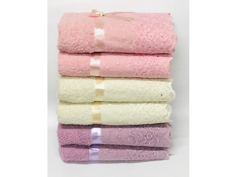 Полотенка Банные полотенца Бантик