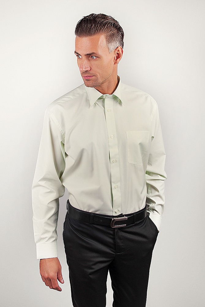 Рубашка Fra №869-21 цвет Светло-оливковый