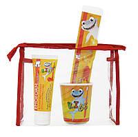 Emoform Actifluor Kids Set детский набор по уходу за зубами