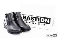 Мужские кожаные зимние ботинки 41 размер