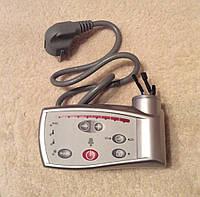 Терморегулятор цифровой с ТАЙМЕРОМ съемный для патронного ТЭНа, 5 - 30 °С (темпер. воздуха), СЕРЫЙ     Италия, фото 1