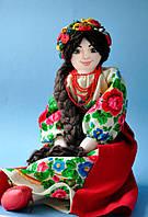 Украинская Национальная Кукла Руслана мягкая кукла