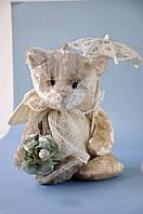 Мишка Ми-мишка – Винтажный Плюш – Невеста мягкая игрушка