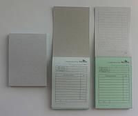 Печать самокопирующихся бланков А6, от 1 дня, доставка