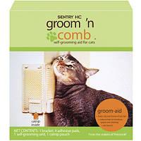Sentry (Сентри) Groom'N Comb Грум комб угловая щетка для самогрумминга котов