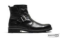 Мужские кожаные зимние ботинки сапоги 40 размер