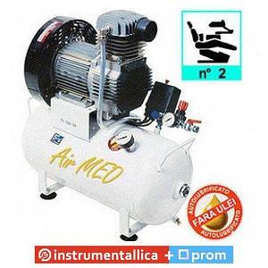 Компрессор безмаслянный медицинский AIRMED 150-24 на 2 установки 1121690004 Fiac