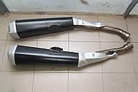 Штатные глушители Kawasaki ZZR1400. Пара.