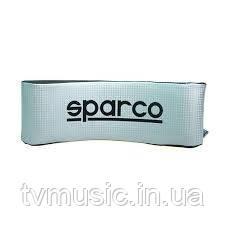 Подушка автомобильная SPARCO NECK  SILVER