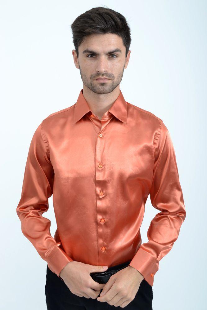 Рубашка 113RPass003 цвет Медный