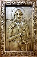 Икона деревянная Святого Олега Брянского