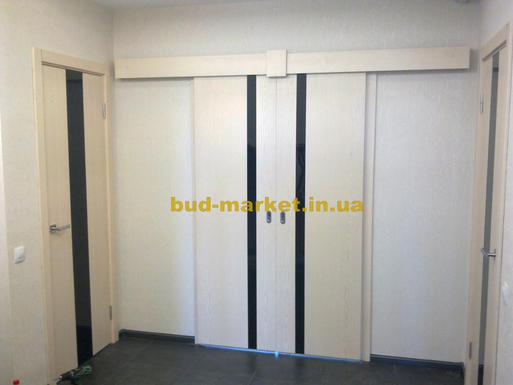 Установка межкомнатных дверей на раздвижной системе