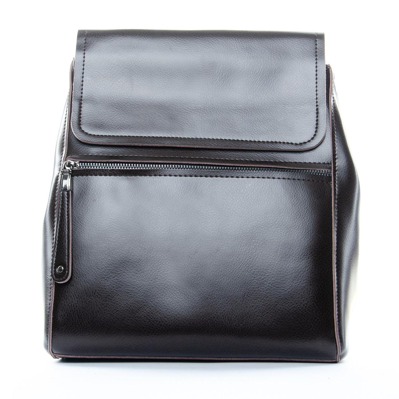PODIUM Сумка Женская Рюкзак кожа ALEX RAI 1-05 1005 brown