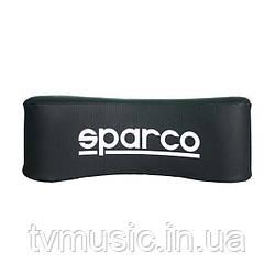 Подушка автомобильная SPARCO NECK  BLACK PU