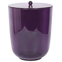 Ведро для санузла серия Рома цвет фиолетовый