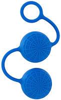 Вагинальные шарики POSH SILICONE O BALLS BLUE , фото 1