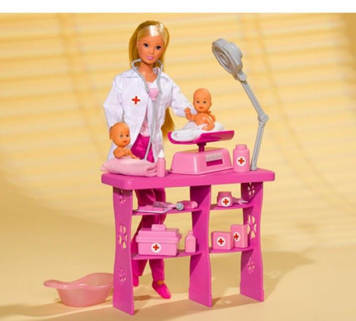 Кукла Steffi Врач с детьми Simba 5732608