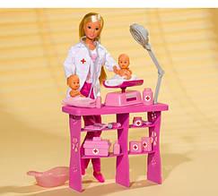Лялька Steffi Лікар з дітьми Simba 5732608