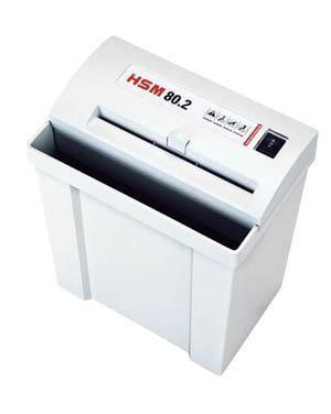 HSM 90 (5,8) уничтожитель, персональный,  продольный рез, 12 листов, секретность 2, корзина 25 литров.