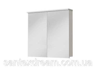 Зеркальный шкафчик Ювента Monza 60x15x75 (MnMC-60)