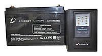 Комплект резервного питания ИБП Luxeon UPS-1000ZX + АКБ LX12-100MG 100Ah для 7-12ч работы газового котла, фото 1