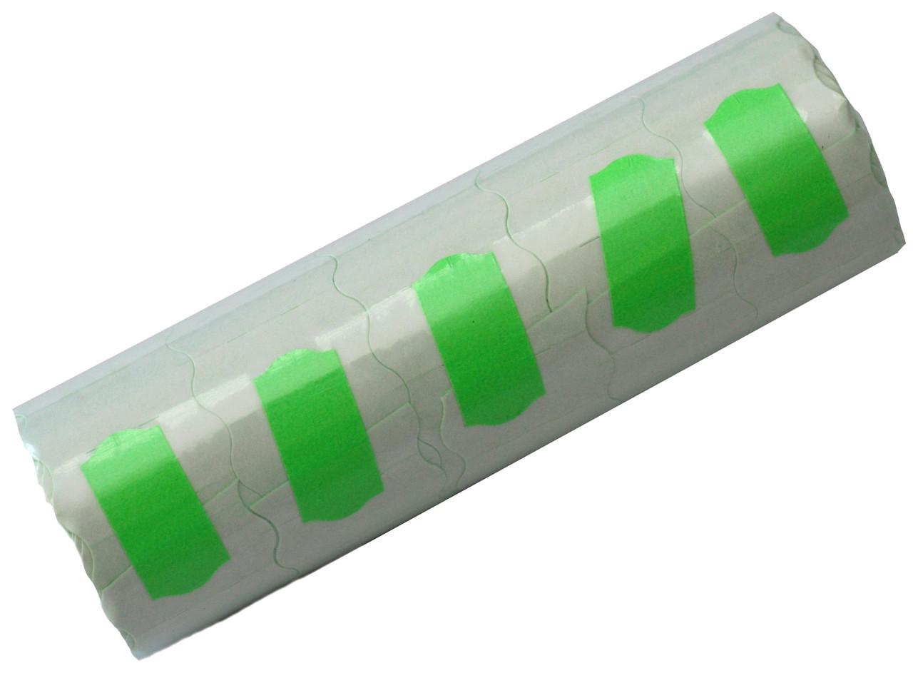 Ценники цветные (26х16mm/6метров) фигурные