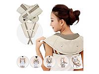 Электрический массажер для шеи, плеч, спины и поясницы (34228)
