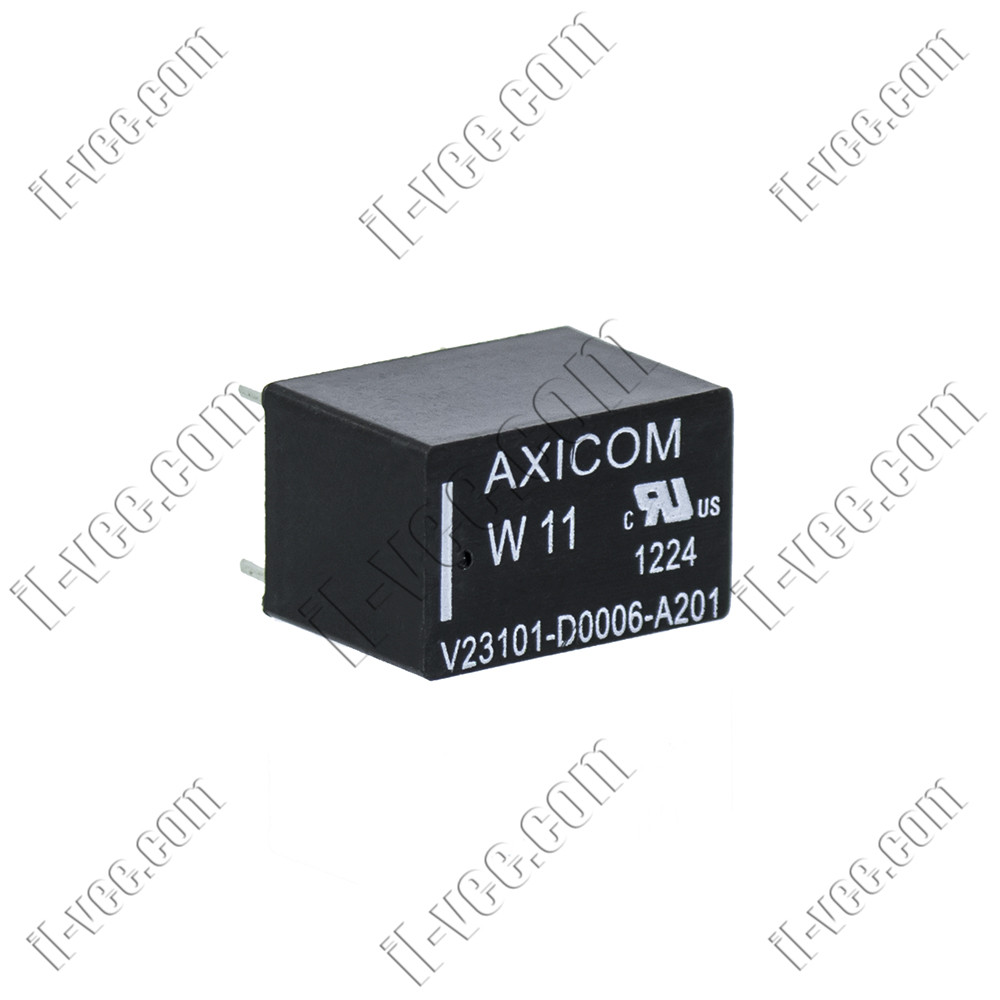 Реле AXICOM W11 V23101-D0006-B201 12VDC, 1.25A/125VAC, 1.25A/120VDC