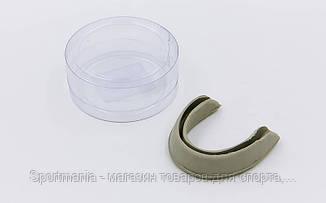 Капа боксерская односторонняя (одночелюстная) TWINS  (резина не термоформируемая,серый) Распродажа!
