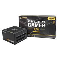 Блок живлення Antec HCG650 Gold,650W,12см,aPFC,80+ GOLD,24+8,3xPer,8xSATA,4xPCIe,модульний