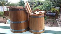 Бондарные изделия: кадки для засола ,жбан для коньяка,водопад для бани!