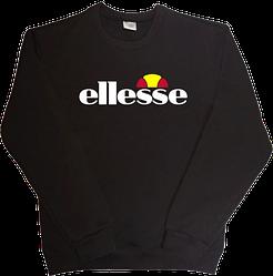 Свитшот толстовка ellesse (элис) черный