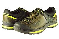 Мужские туфли кожаные mida 11838крз.олива олива  весенние , фото 1