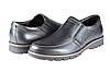 Мужские туфли комфорт mida 11081ч черные   весенние