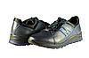 Мужские спортивные туфли mida 11154син синие   весенние