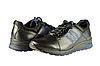 Мужские спортивные туфли mida 11154ч чёрные   весенние
