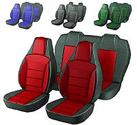 Чехлы сидений Ваз 2111 Красные
