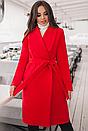 Классическое женское кашемировое пальто на подкладке, Итальянский кашемир,цвета, р.  42,44,46,48,50, фото 3
