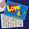 """Шоколадный набор """"Love is"""" 40 шоколадок"""