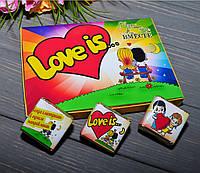 Шоколадний набір LOVE IS... Лав із...