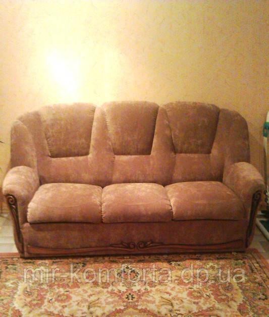Перетяжка диванов в Днепре