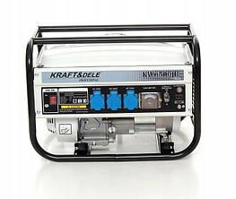 Электрогенератор KRAFT & DELE KD118  12/230V 2500 Вт