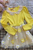 Платье детское желтое AAA 5096, фото 1