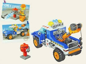 Конструктор BRICK 1109 серии Сити Эвакуатор 210 деталей