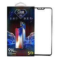 Защитное стекло Premium Glass 5D Side Glue для LG V40 ThinQ Black